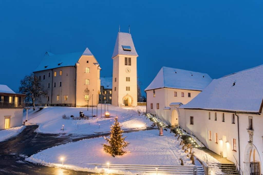 Hotel Schloss Seggau - im Winter
